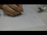 Экивоки, задание нарисовать фразу с закрытыми глазами