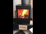 печь камин на дровах Wiking от HWAM