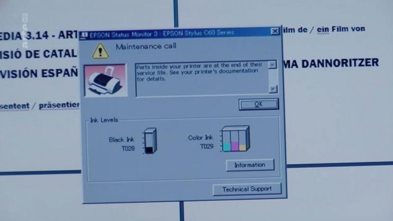 Obsolescence Programmée : panne d'imprimante ( l'aiguille dans la botte de foin )