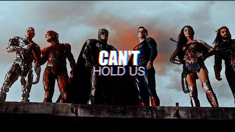 Justice league — can't hold us