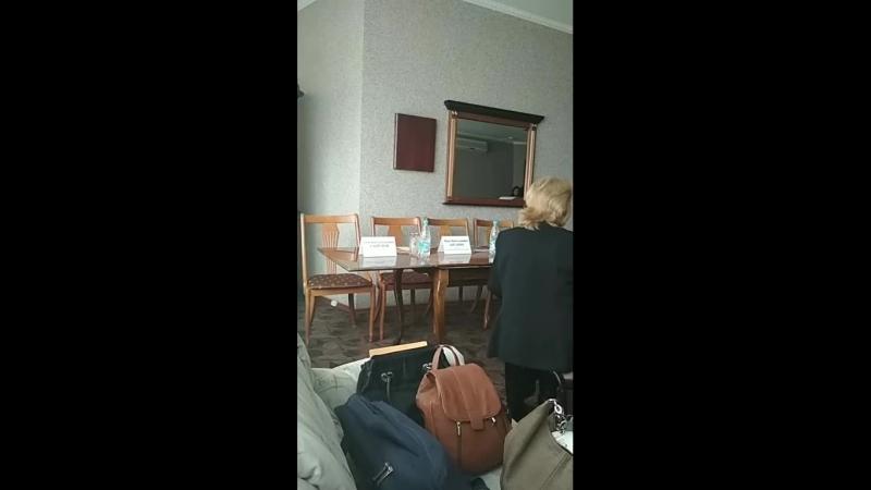 Пресс-конференция по случаю открытия гастролей Рязанского музыкального театра
