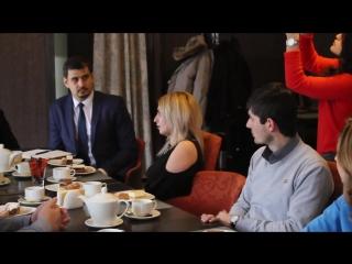 Сегодня в @kafe_kompliment_nalchik, в рамках реализации Республиканского проекта «Бизнес завтрак», отдел профориентации и содейс