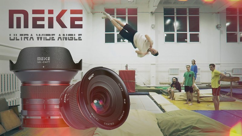 Meike 12mm Lens Test   Sony a 6300  Feiyu tech a2000