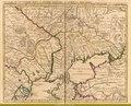 КАРТА, Малая Тартария, Крым, Черное море, 1742 год