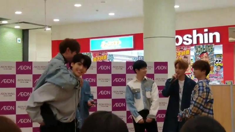 [Фанкам|VK][21.02.2018] Boyfriend на релиз-мероприятии, посвященном выпуску японского сингла