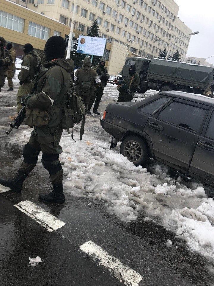 Взятие под контроль Генеральной прокуратуры ЛНР