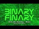 Erik De Koning Rain Binary Finary Remix