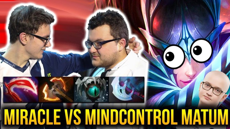 MIRACLE Phantom Assassin vs MATUMBAMAN MIND CONTROL - MERCY PLZ Dota 2