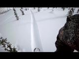 Экстремальный спуск на сноуборде