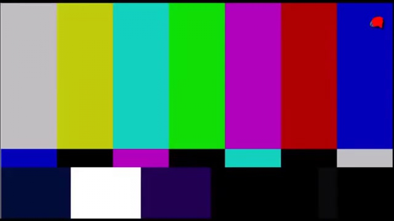 Футаж. Шипение телевизора