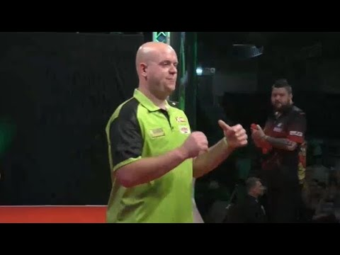 Michael van Gerwen vs Michael Smith | European Darts Grand Prix 2018 | SEMI-FINAL [HIGHLIGHTS]