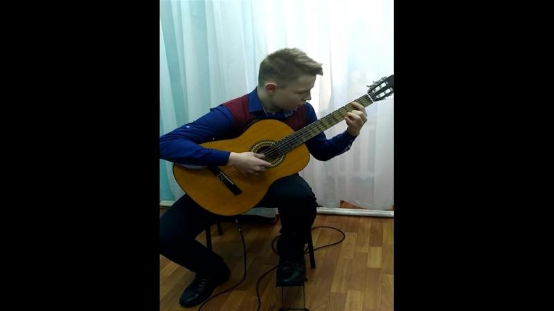 Бубликов Дмитрий Танцуй девочка цыганская песня обр С Орехова