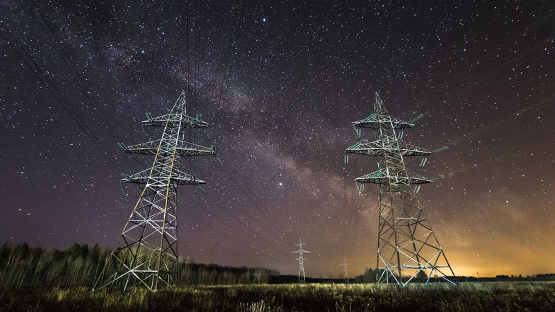 April Milky Way Timelapse