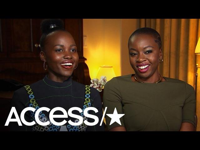 'Black Panther': Lupita Nyong'o Danai Gurira On Portraying Female Characters With Agency | Access