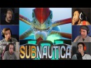 Gamers Reactions to the First Encounter of Reaper Leviathan   Subnautica