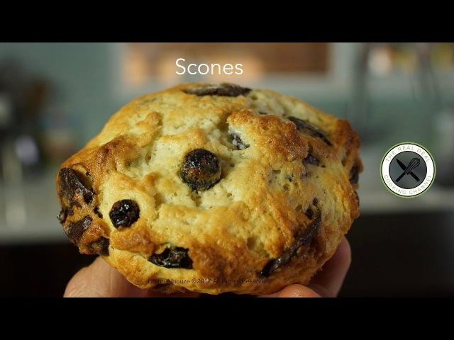 Scones – Bruno Albouze – THE REAL DEAL