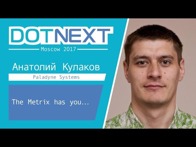 Анатолий Кулаков — The Metrix has you...