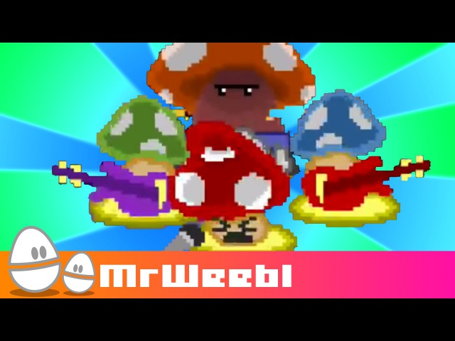 Pixel Shrooms : animated music video : MrWeebl