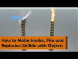 How to make Smoke, Fire and Explosion Collide with Objects - Houdini 16.5