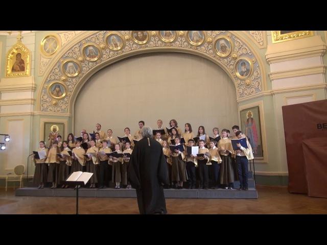 Выступление хора ППГ Люблино на фестивале Пою Богу моему доньдеже есмь в ПСТГУ
