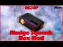 Распаковка Nudge Box Mod от Wotofo   Первые впечатления