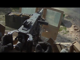 50 Cal Gunner Engages Taliban Positions During Ambush · #coub, #коуб