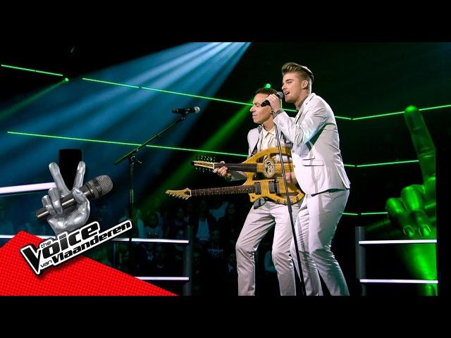 Sitse en Nabil zingen 'Papaoutai' | The Battles | The Voice van Vlaanderen | VTM