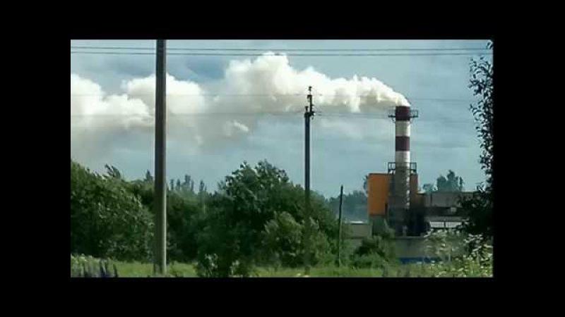 Ядовитый дым с завода HOTROCK г Вязьма