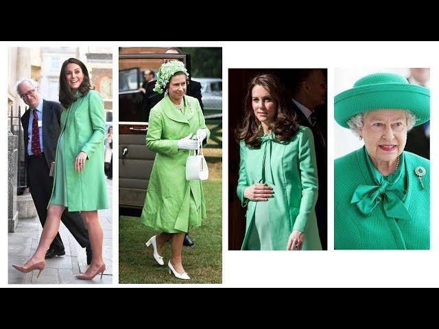 MINT GREEN Duchess of Cambridge take inspiration from Queen Elizabeth