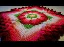 Crochet Flower Granny Square - Granny Square met Bloem haken