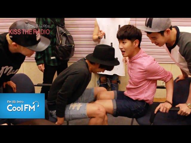 블락비 Block B 방송에서 볼 수 없었던 A형팀의 허벅지씨름과 벌칙영상 대공개~ 140809