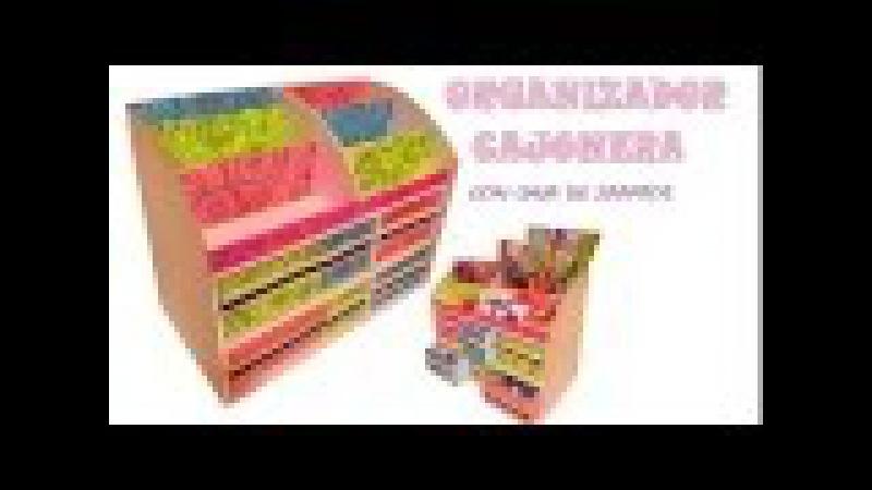 Organizador multiusos con caja de zapatos y carton - multipurpose organizer boxes
