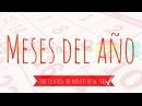 Months of the year in Spanish | Los meses del año en español | Learn Spanish