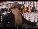 Billy Gibbons Criss Angel Visit Ed Roman Guitars in Las Vegas