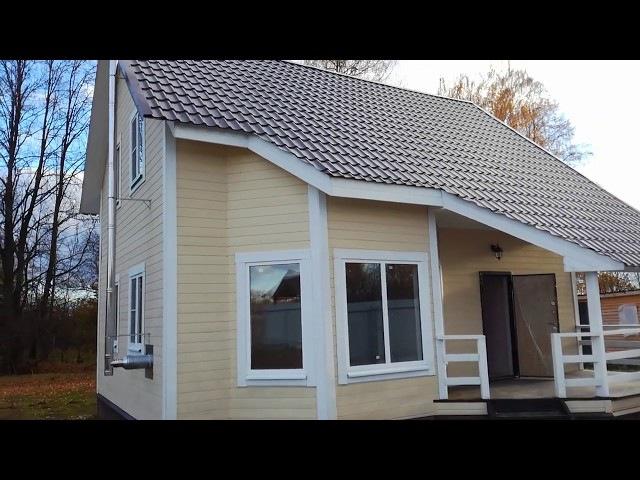 Недорогой дом 110м2. под ключ, по проекту Авито, в Андреевской Слободе на уч-ке ИЖ...