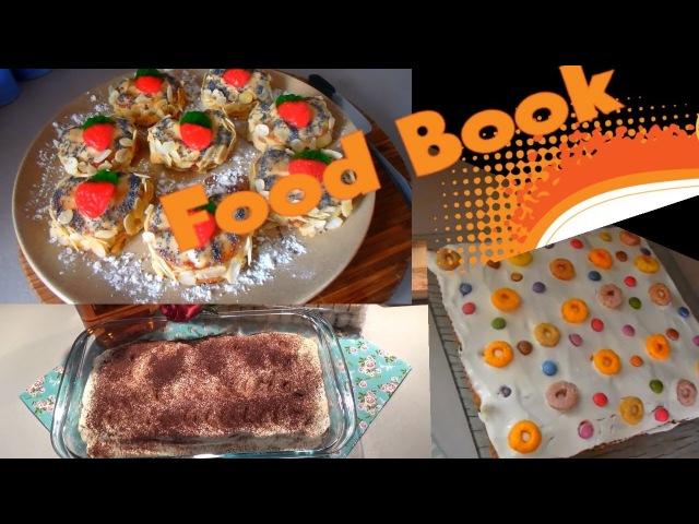 FOOD BOOK 9   ВКУСНЫЕ ТОРТЫ за 5 МИНУТ без ВЫПЕЧКИ