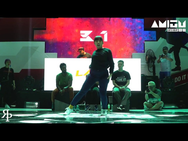Mbuy vs Gebe Funk Style Top32 Eat D Beat AMITY 2017 Bandung Indonesia