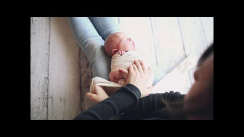 Newborn Simple Wrap Tutorial