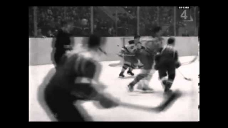 Ice Hockey 1958 (17.12) USSR - USA- 5-3 Friendly Match