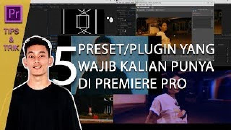 5 preset/plugin di premiere pro yang wajib kalian punya atau ketahui