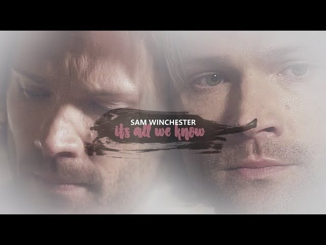Sam winchester | it's all we know [13.12]