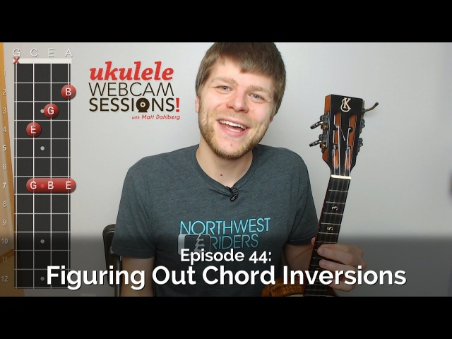 Ukulele Webcam Sessions (Ep.44) - Figuring Out Chord Inversions