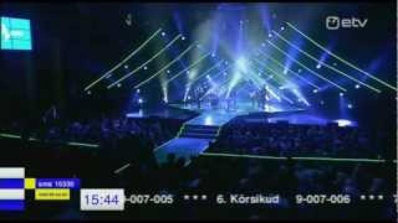 Ott Lepland, Tanel Padar, Jalmar Vabarna - Jõesäng ( Live @ Eesti Laul 2013)