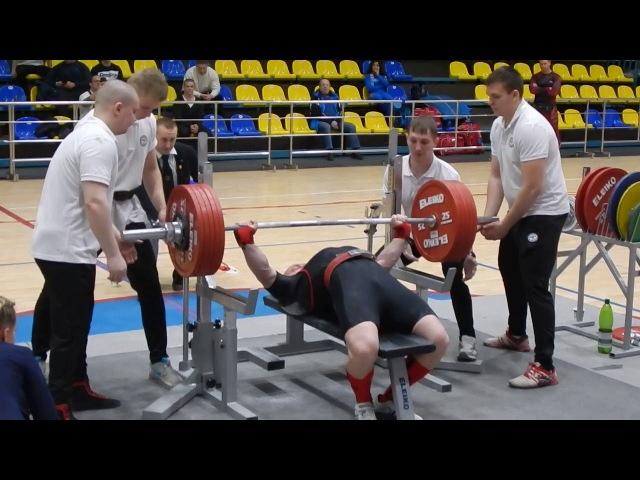 Vasyukov Evgeniy bench press 280,5kg@83kg. New record of Russia!