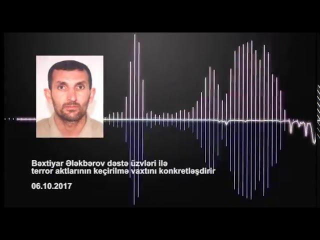 Dövlət Təhlükəsizlik Xidmətinin anti-terror əməliyyat-istintaq tədbirləri barədə video material