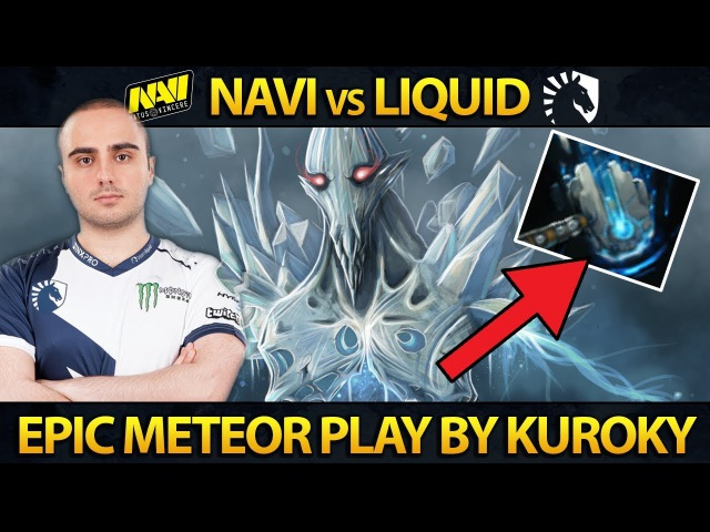 NAVI vs LIQUID - Winners Bracket - PERFECT Meme Hammer Play - ESL Genting Dota 2