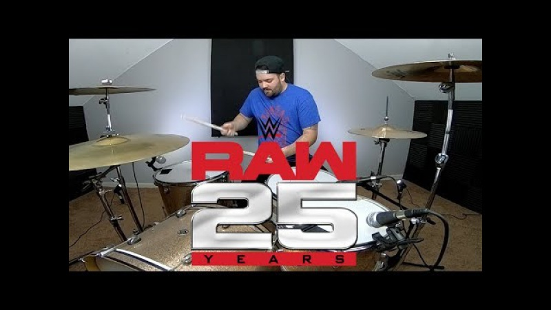 WWE Monday Night Raw Theme Songs Medley WWF Raw25