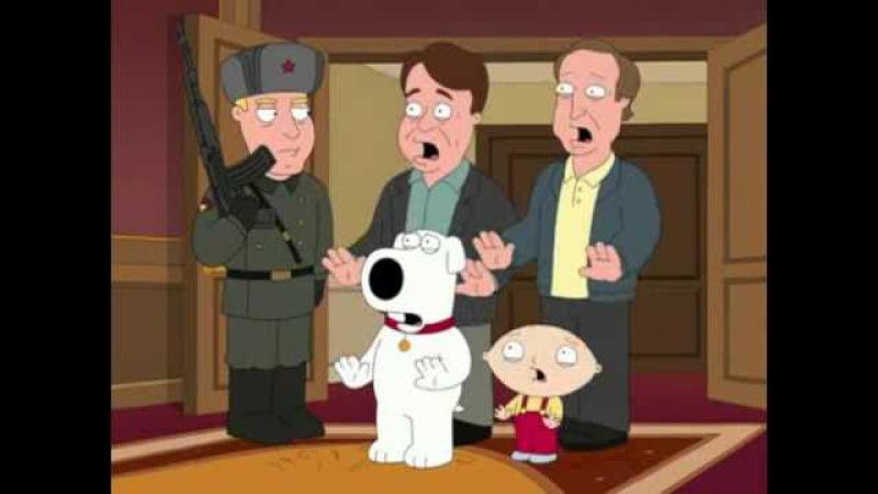 Family Guy Russia Putin
