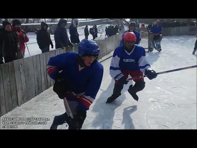 XXXIII Зимняя Районная Спартакиада-2018 в селе Восток (Карасуский район)
