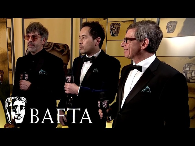 The Shape of Water wins Production Design   Backstage Interview   EE BAFTA Film Awards 2018